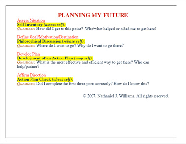 My Future Plan Essay